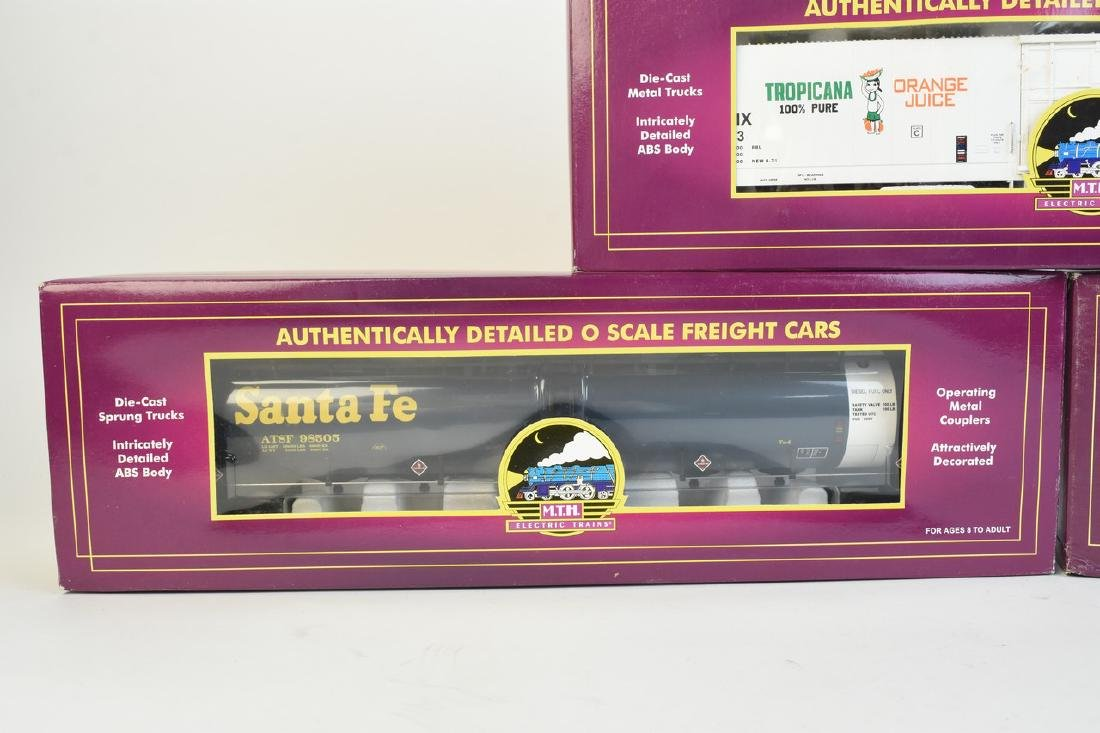 (3) MTH O Scale Freight Cars; OB - 3