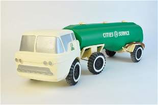 Ideal Toy Corps Cities Service Toy Truck