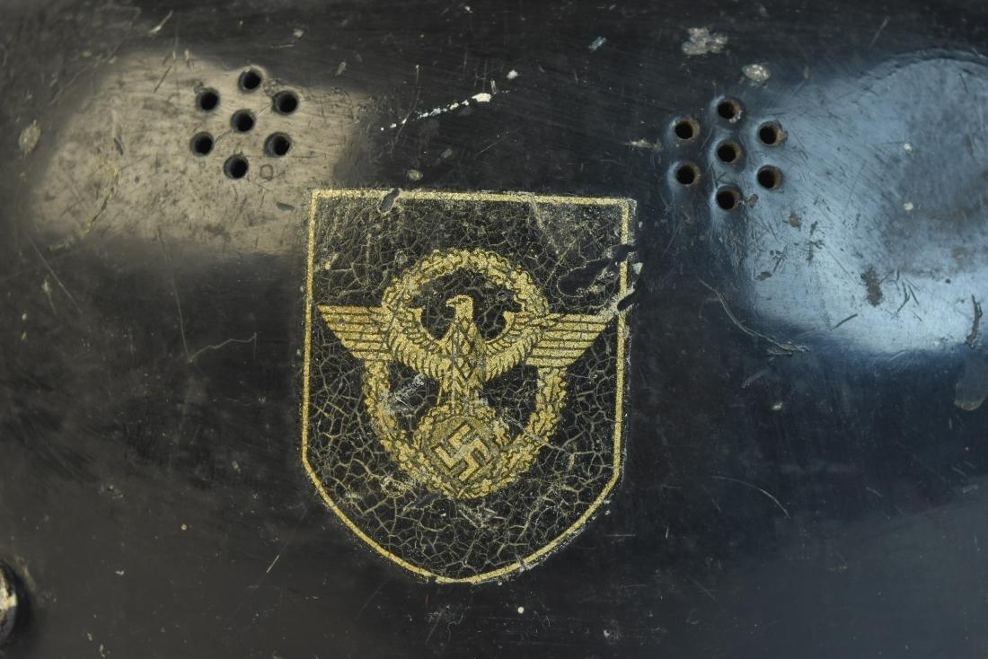 WWII German Nazi Helmet (police) - 4