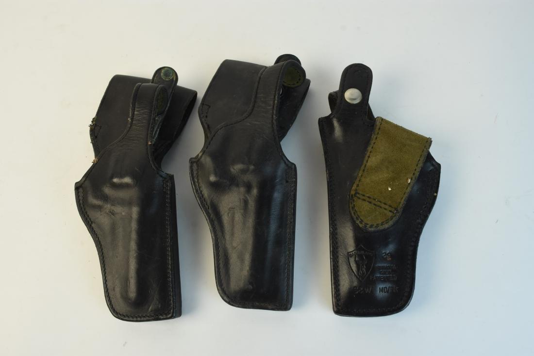 Leather Gun Holsters, Belt & Gun Grips - 10