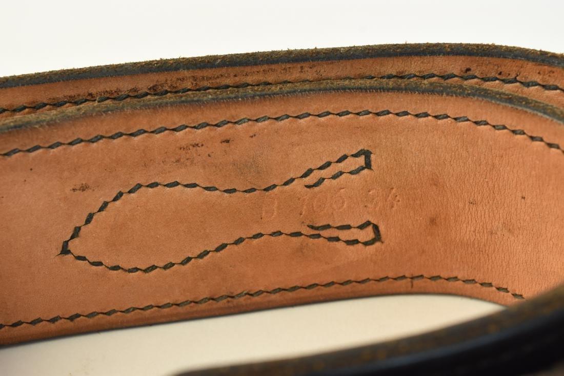 Leather Gun Holsters, Belt & Gun Grips - 3