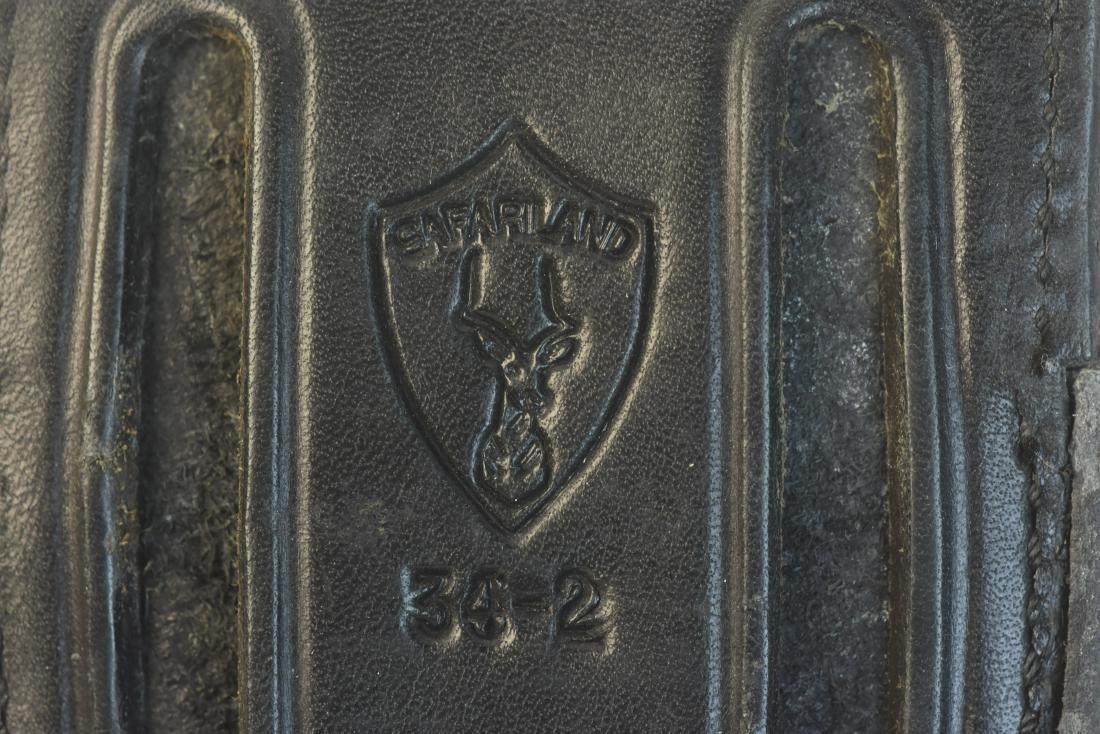 Leather Gun Holsters, Belt & Gun Grips - 8