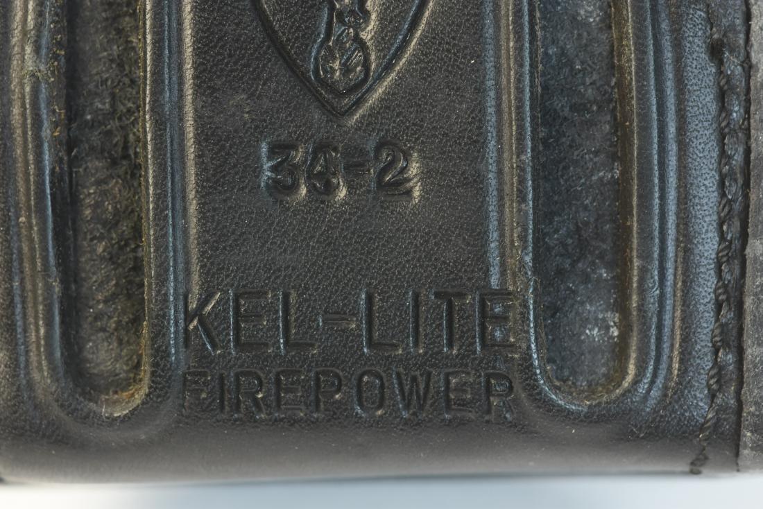 Leather Gun Holsters, Belt & Gun Grips - 9