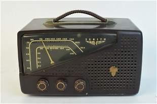 1950s Zenith Model 7H922 AMFM Tube Radio