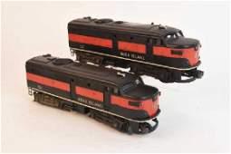 Pair Post War Lionel Trains No. 2031