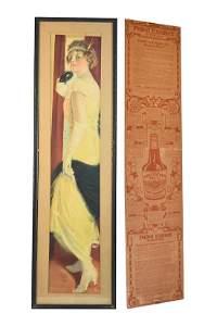 Pabst Extract 1917 Promotional Calendar Advertisement