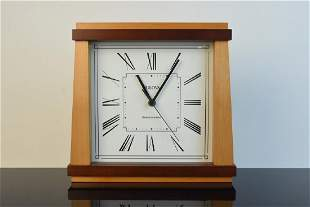Modern Bulova Radio Controlled Desk Clock