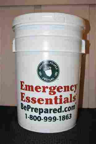41 Lbs Bucket of Black Beans Emergency Essentials