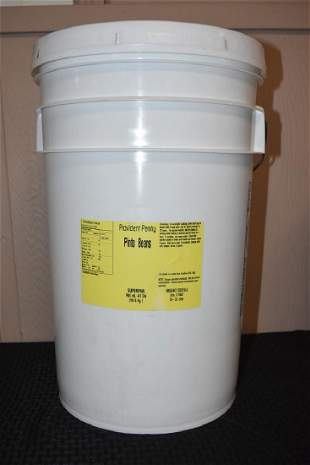 41 Lbs Provident Pantry Pinto Beans Bucket