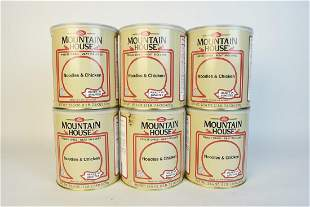 6 Mountain House Noodles Chicken 236 oz Cans