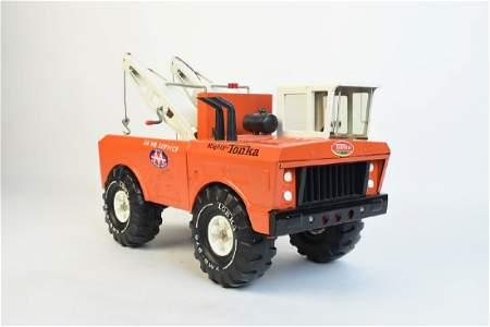 1970's Mighty Tonka 24 Hr. Service Wrecker Truck