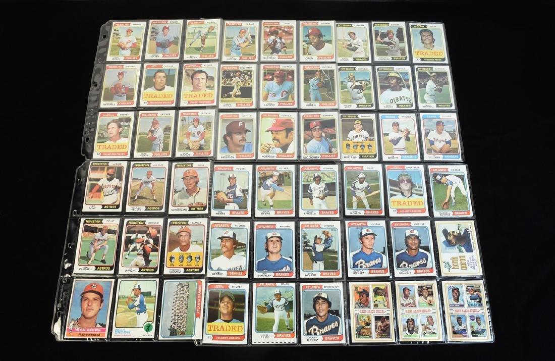 (630+) 1970's Baseball/ Football Cards - Most Topps - 10