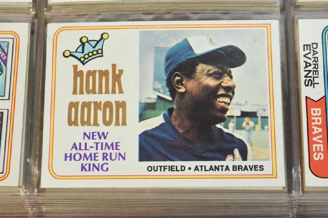 (630+) 1970's Baseball/ Football Cards - Most Topps - 2