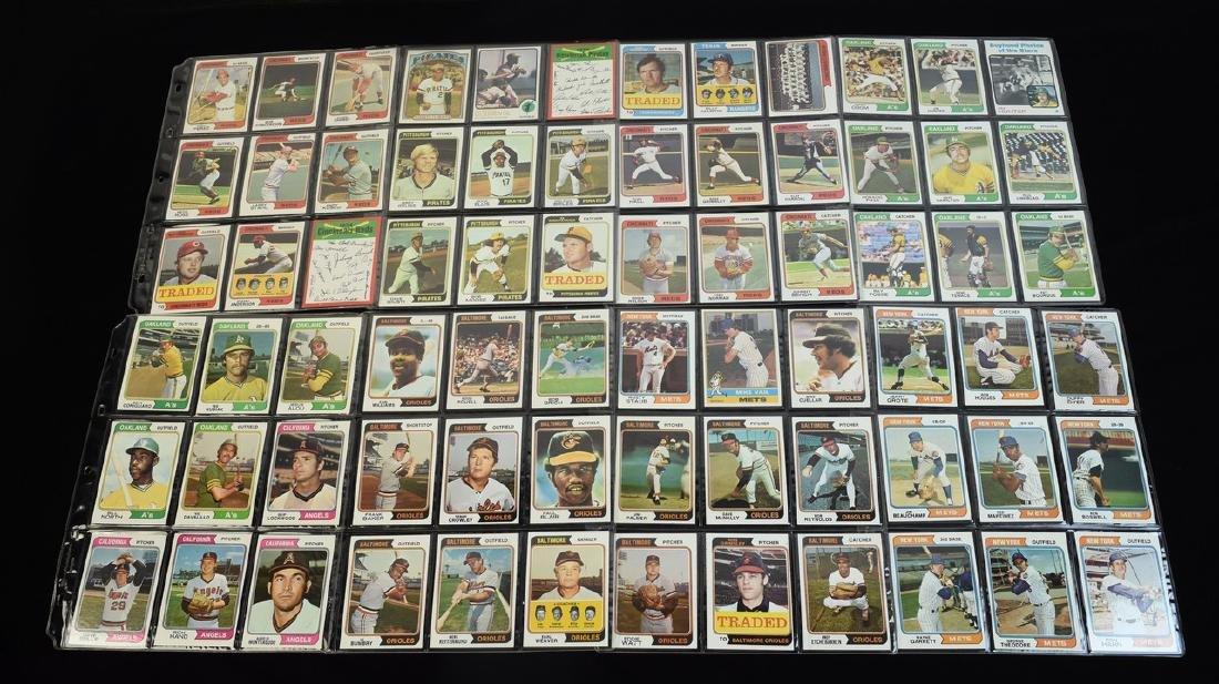 (630+) 1970's Baseball/ Football Cards - Most Topps - 8