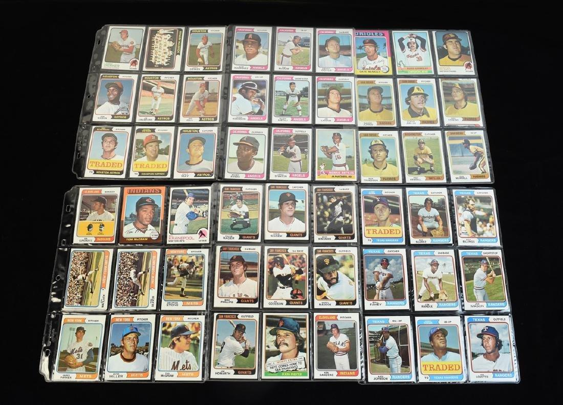 (630+) 1970's Baseball/ Football Cards - Most Topps - 9