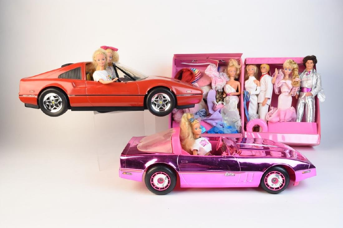 Vintage Barbie Cars, Barbies & Accessories