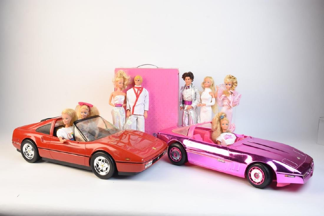 Vintage Barbie Cars, Barbies & Accessories - 2