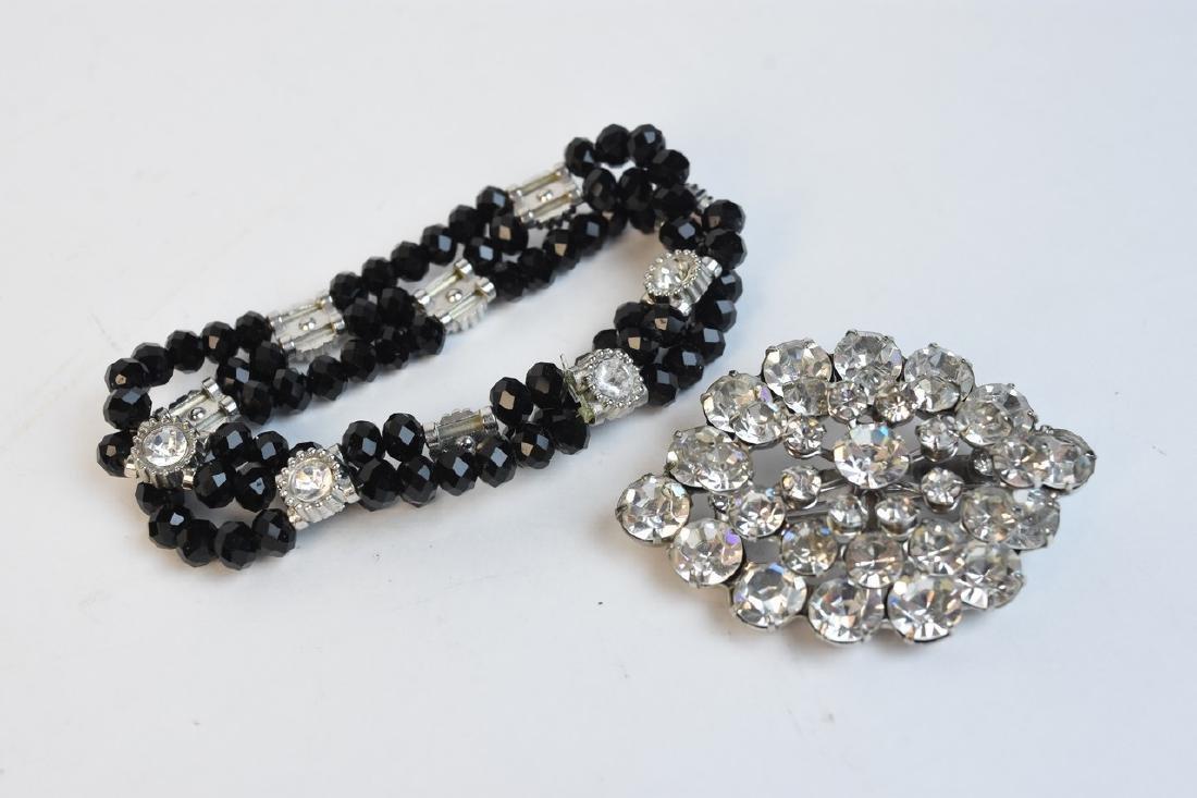 Vintage Rhinestone Costume Jewelry - 8
