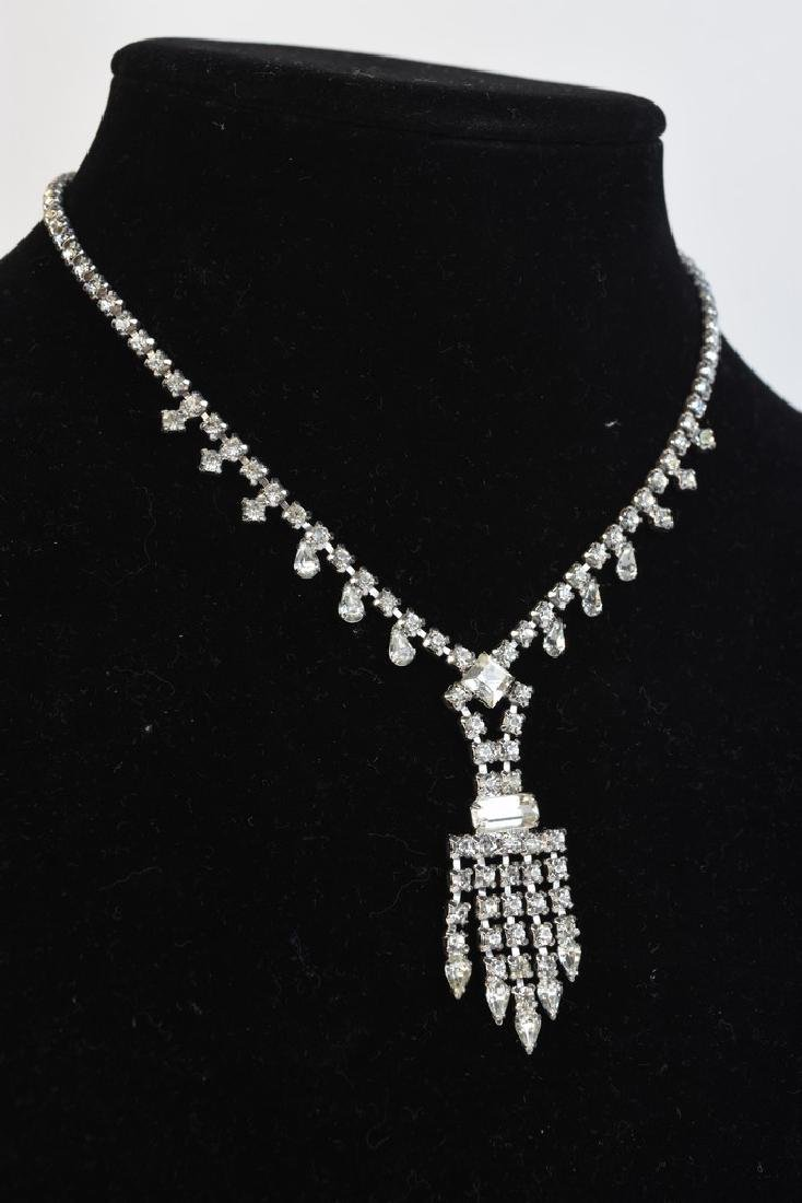 Vintage Rhinestone Costume Jewelry - 9