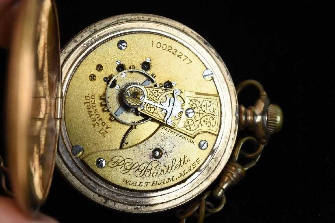 (3) Waltham Rolled Gold Pocket Watches - 4