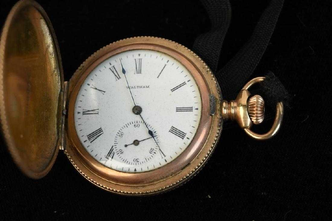 (3) Waltham Rolled Gold Pocket Watches - 6