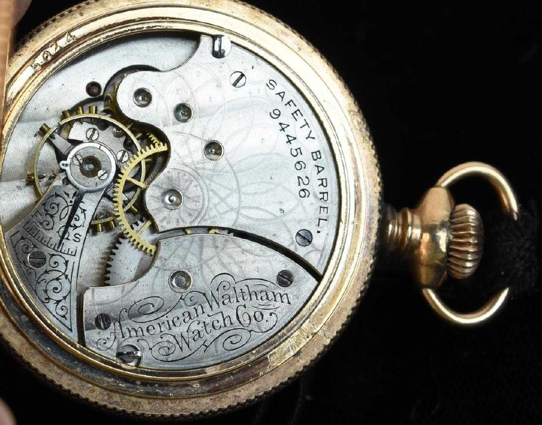 (3) Waltham Rolled Gold Pocket Watches - 7