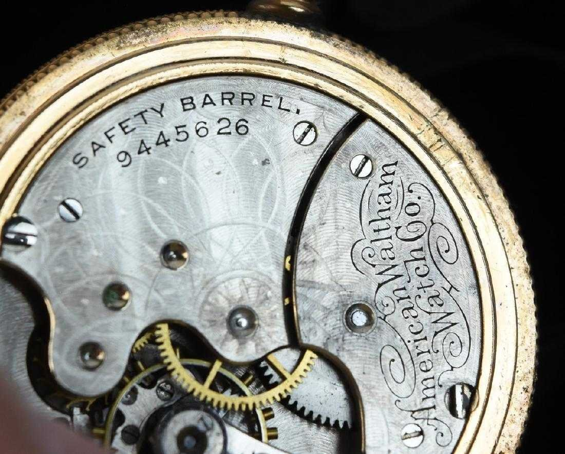 (3) Waltham Rolled Gold Pocket Watches - 8