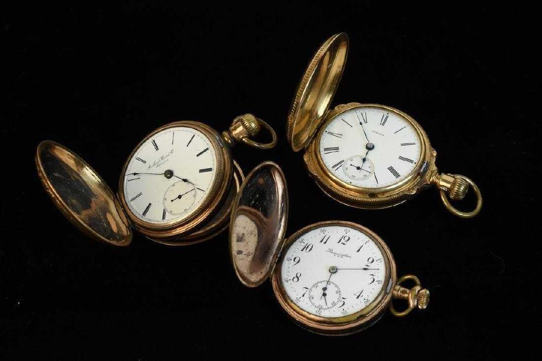 (3) Pocket Watches