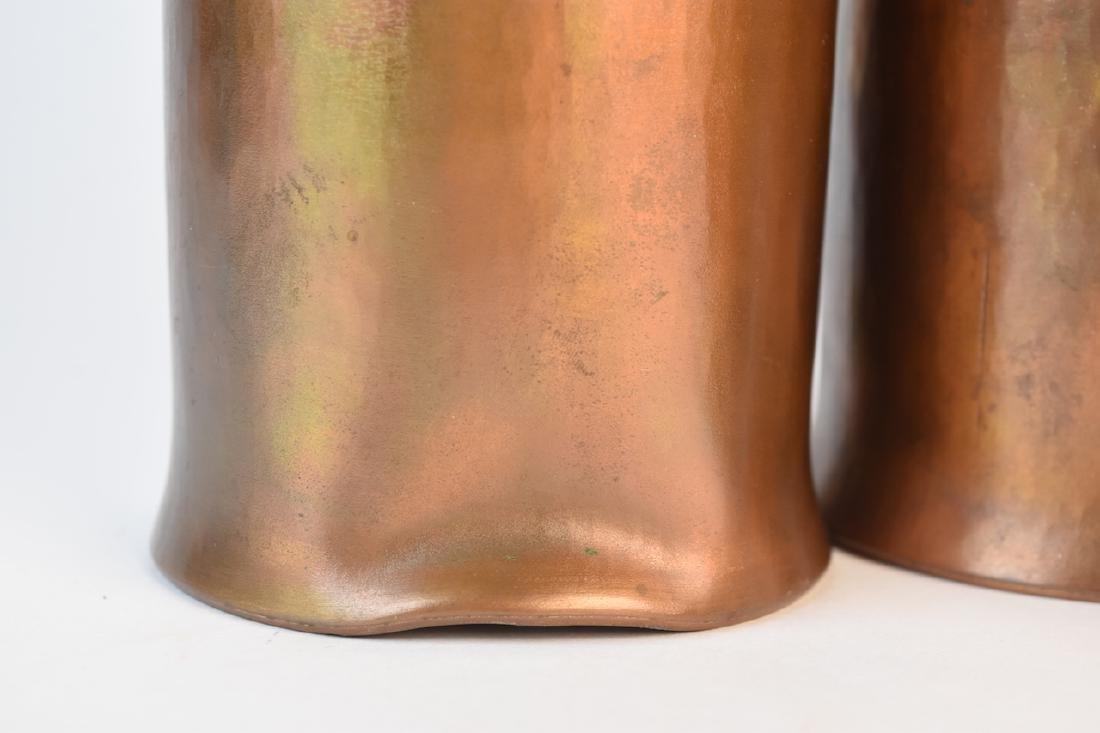 Roy Markusen Designer Copper Candle Holders - 4