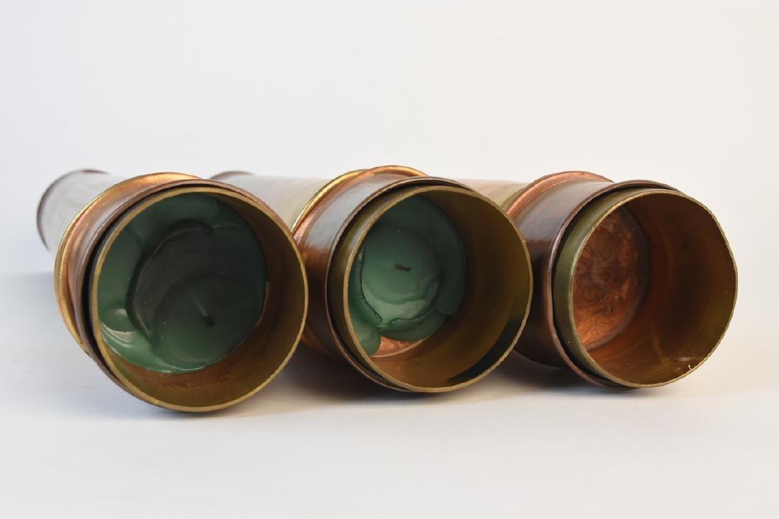 Roy Markusen Designer Copper Candle Holders - 5