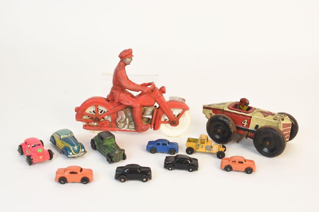 Assorted Toys; Auburn Rubber, Marx, Germany +