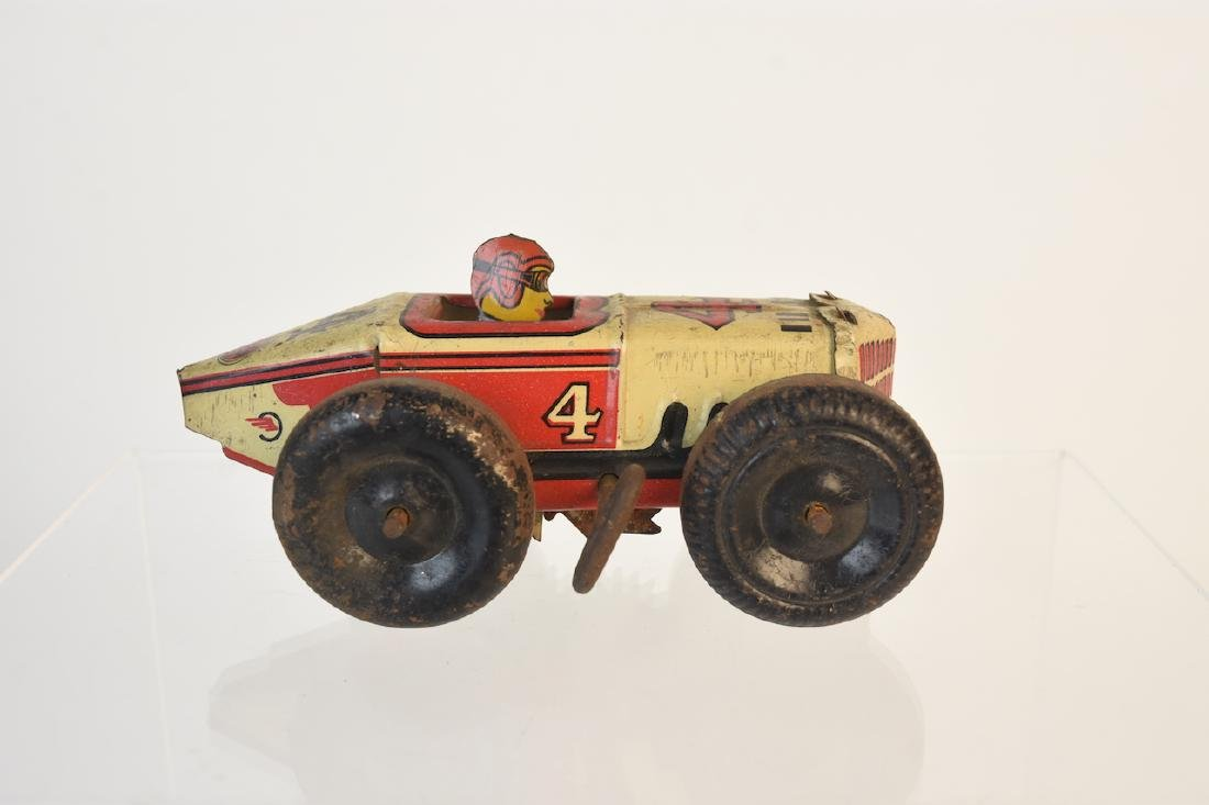 Assorted Toys; Auburn Rubber, Marx, Germany + - 5
