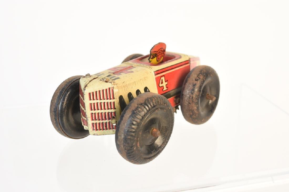 Assorted Toys; Auburn Rubber, Marx, Germany + - 6