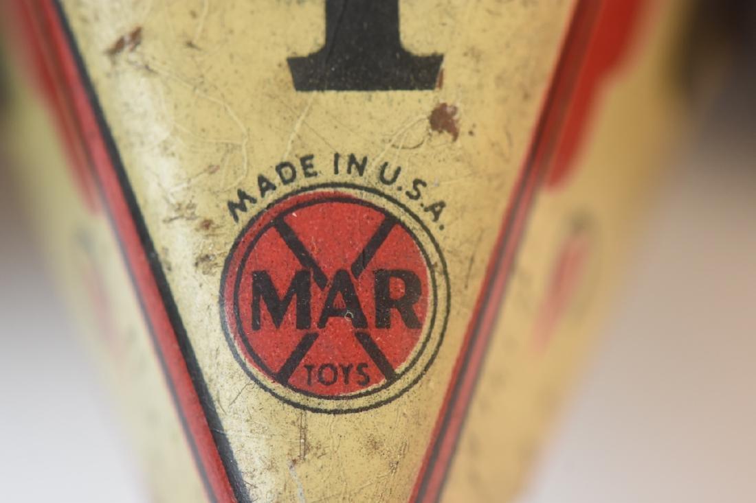 Assorted Toys; Auburn Rubber, Marx, Germany + - 8