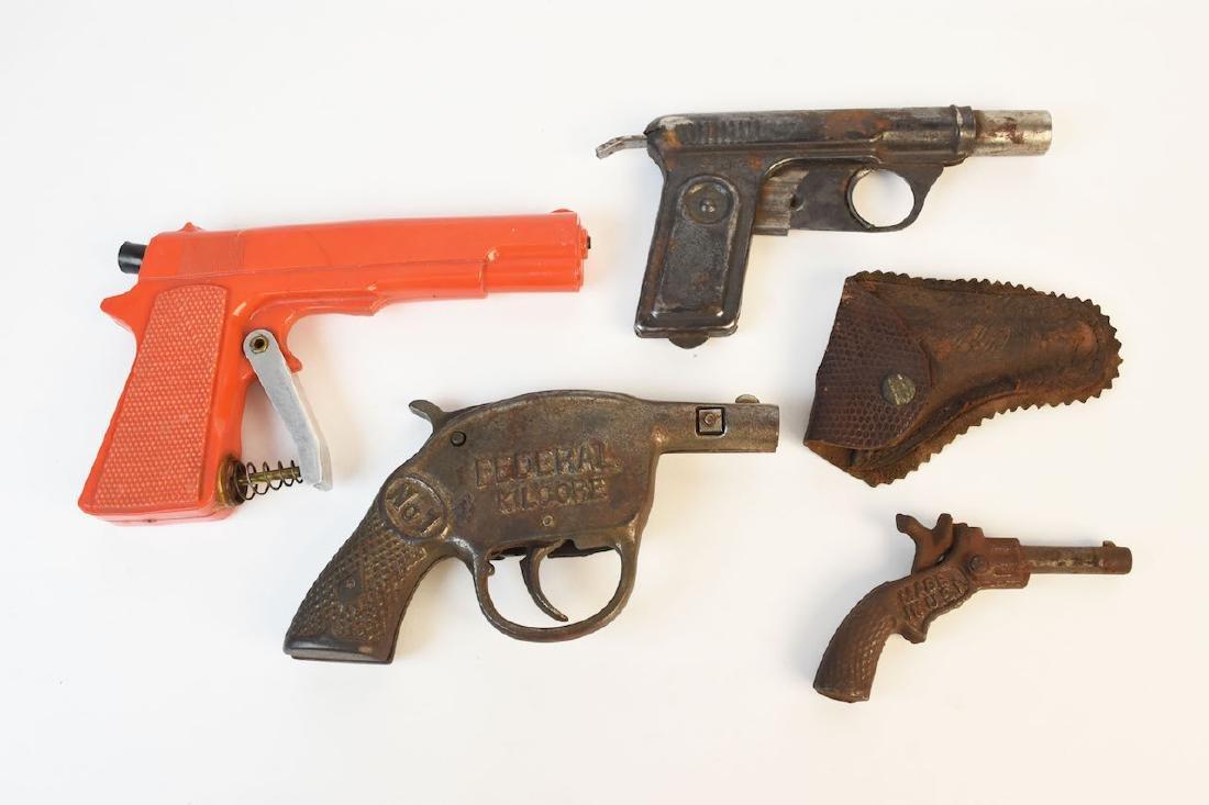 Vintage Toy cap Gun & Water Pistols