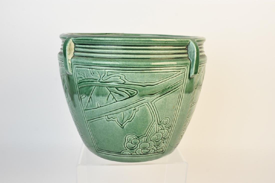 Weller Green Pottery Jardinere