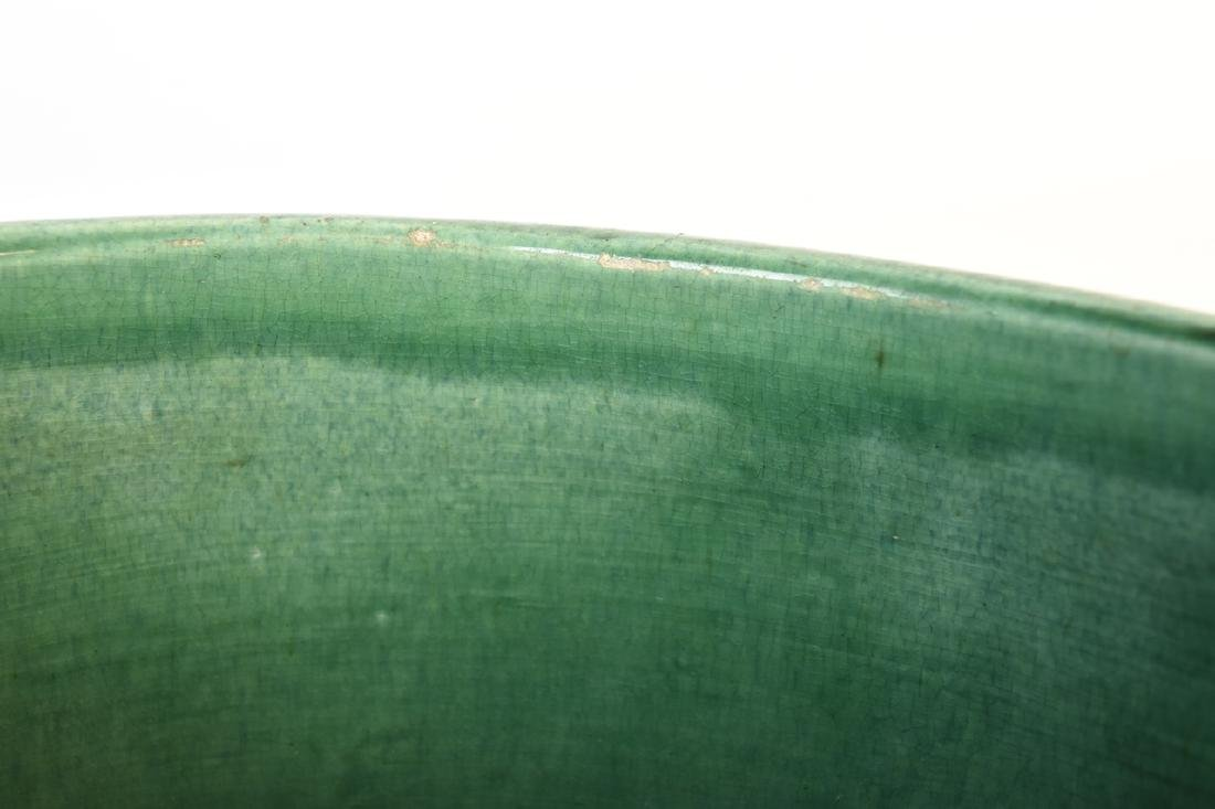 Weller Green Pottery Jardinere - 3
