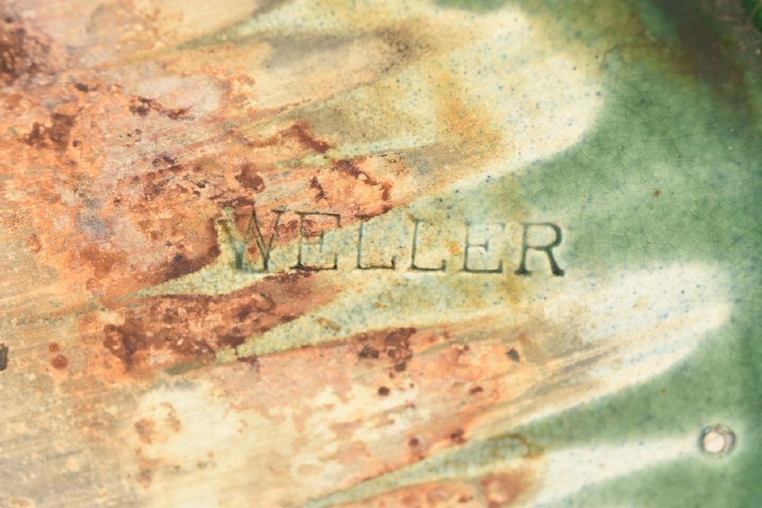 Weller Green Pottery Jardinere - 8