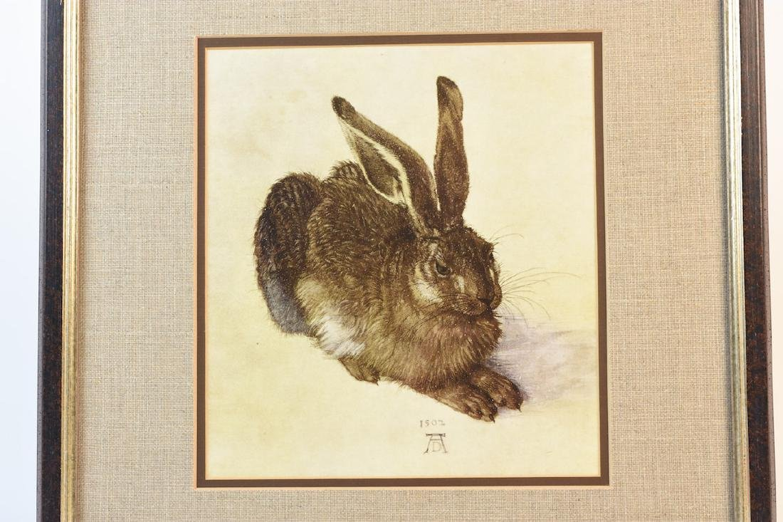 Young Hare Print by Albrecht Durer - 2