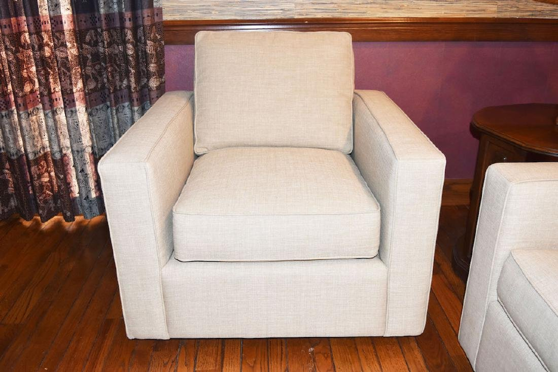 Camden Upholstered Sofa & Chair - 3