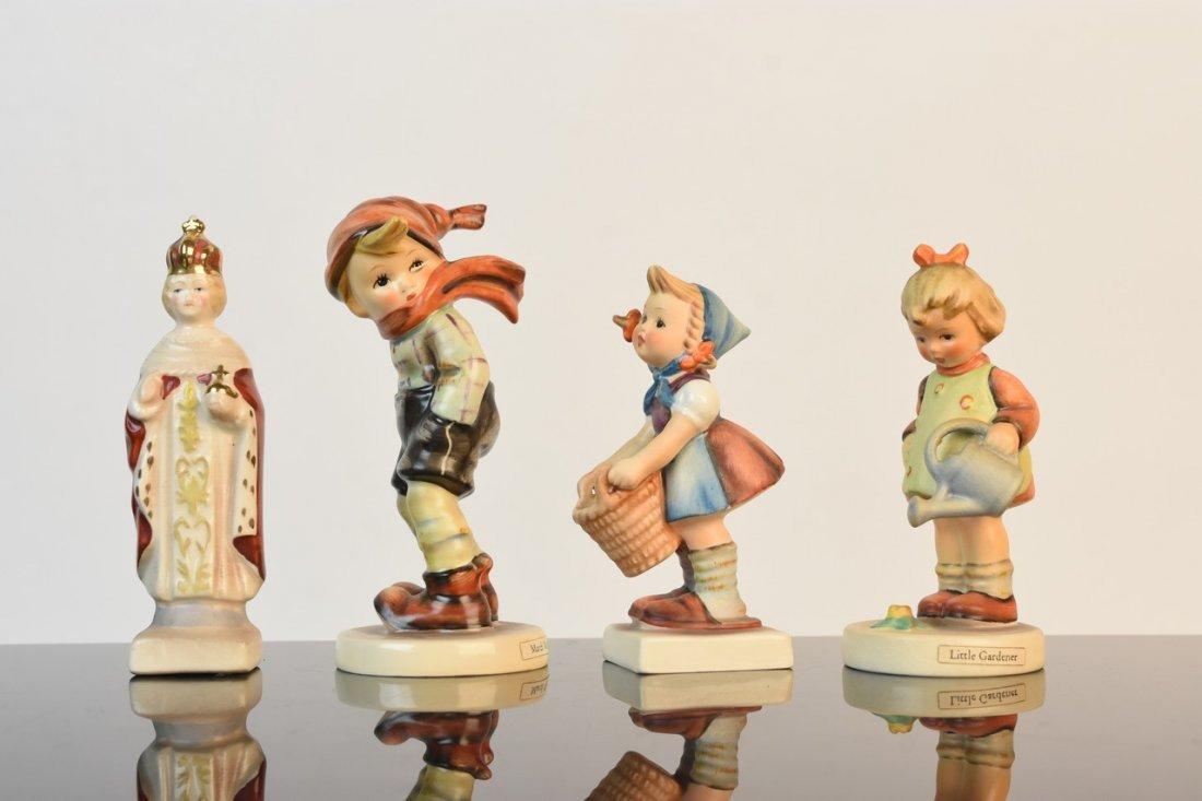 (4) Hummel Figurines TMK-2, 3 & 5