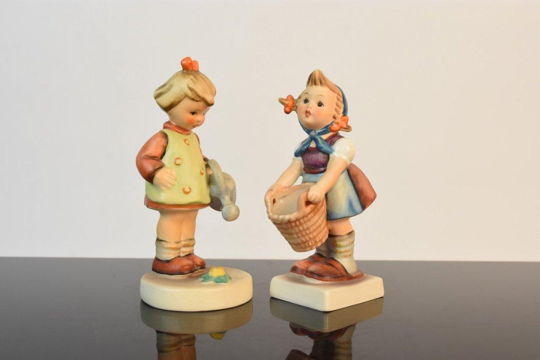 (4) Hummel Figurines TMK-2, 3 & 5 - 9