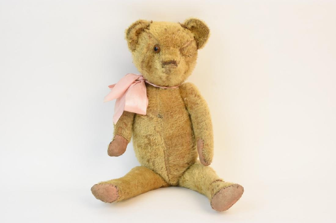 Early Teddy Bear w/ Fully Jointed Body