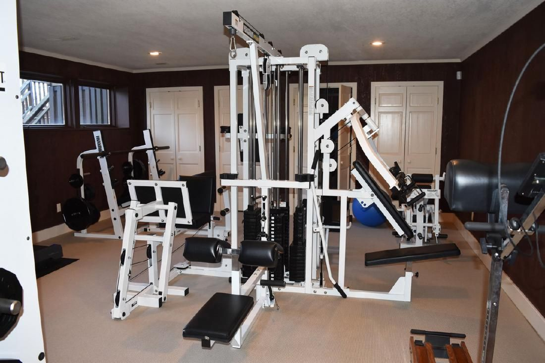 Paramount Fit 5000 Multi Station Gym Mar 02 2019 Scheerer Mcculloch Auctioneers Inc In In