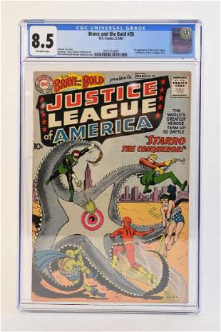 960 Brave and the Bold #28 CGC 8.5