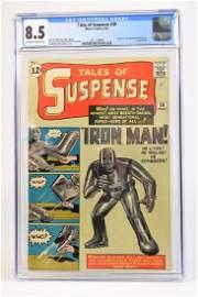 1963 Tales of Suspense #39 CGC 8.5