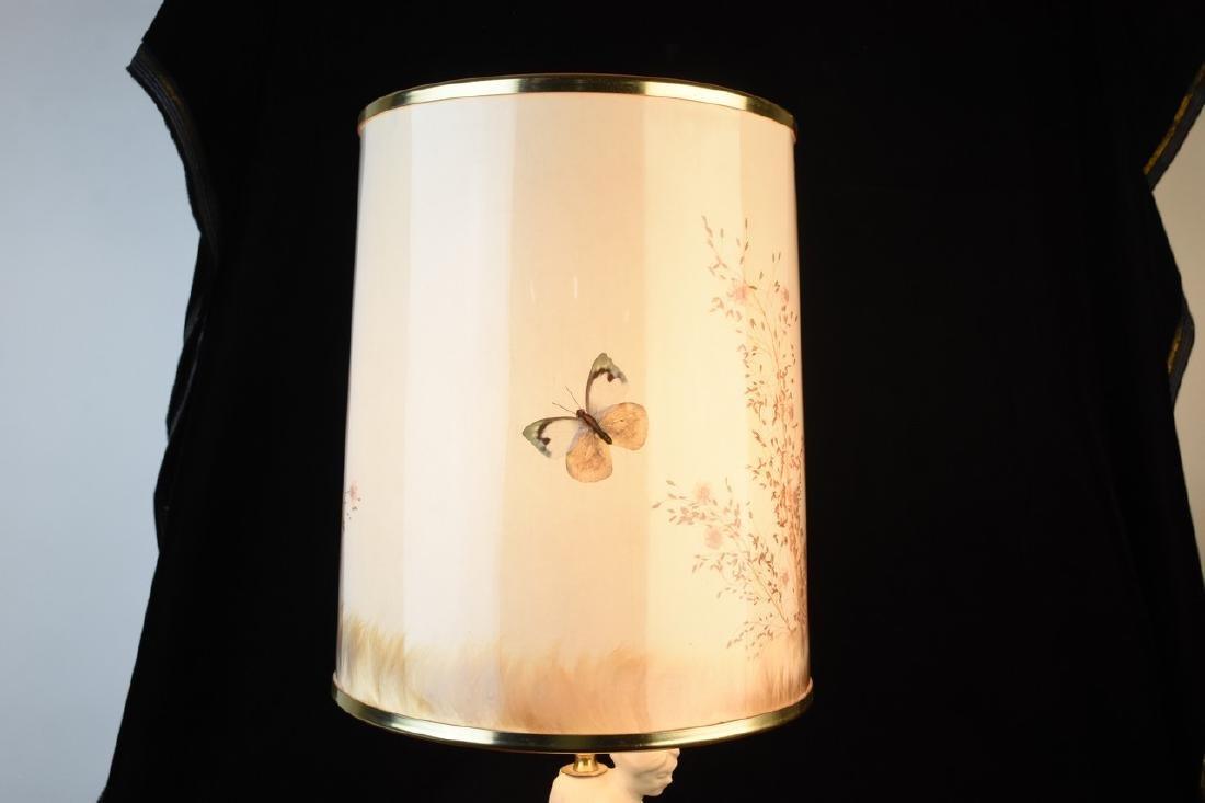 Van Briggle Porcelain Figural Lamps - 10