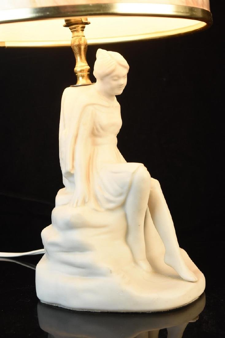 Van Briggle Porcelain Figural Lamps - 7