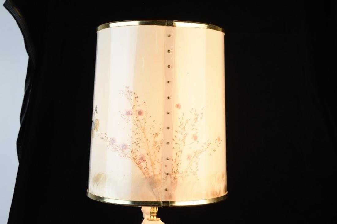 Van Briggle Porcelain Figural Lamps - 9
