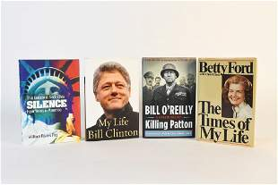 Political Themed Books with Signed William Riverst